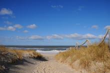 Strand sand wellen dünen einsam Urlaub