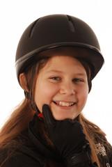 bambina con CAP