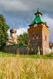 Puhtitsa convent. Estonia poster