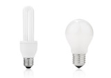 Light bulb and electrical fluorescent energy saving lamp