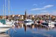 Leinwanddruck Bild - Port de Sanary sur mer en france