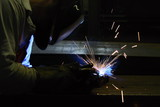 Welding in protective atmosphere of gases poster
