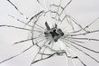 canvas print picture - Broken Mirror