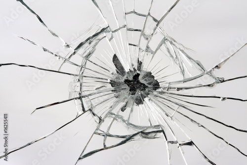 Leinwandbild Motiv Broken Mirror