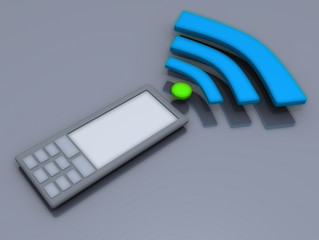 gprs interner wireless phone call 3d free image business