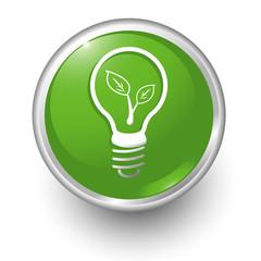 boton verde bombilla eco