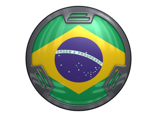Button Brasilien