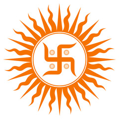 Spiritual Swastika Sign