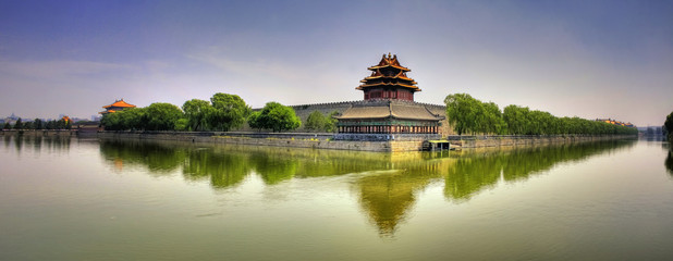 Forbidden City Panorama - Beijing (Peking) - China