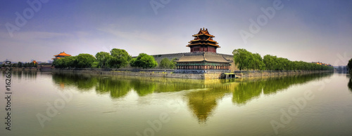 Foto op Aluminium Beijing Forbidden City Panorama - Beijing (Peking) - China