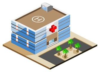 Hospital Isometric