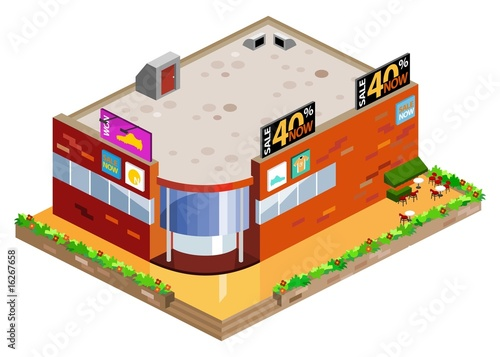 Mall Isometric