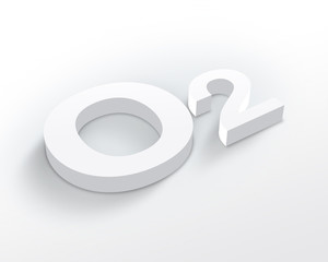 Blank Oxygen symbol