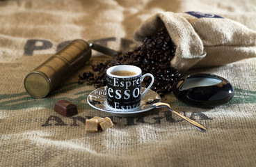 coffee cup, espresso