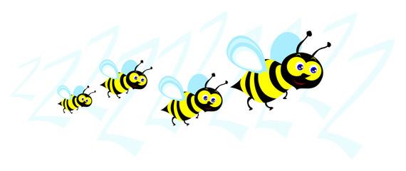 Piccolo sciame di api