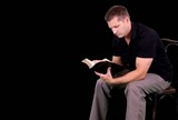 Green Screen Man Reading Bible