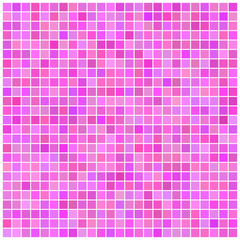 Square vector pink mosaic background