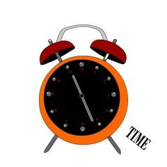 orologio sveglia che scandisce il tempo
