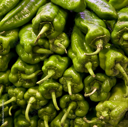 Hot Green Peppers