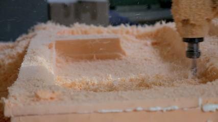 Plastic cutting by drill-machine