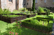 Medieval herb- and flower garden - 16304899