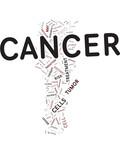 Tumor word cloud poster