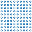 one hundred fully editable vector web icons