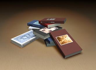 Small book heap