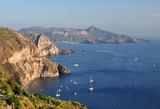 A tenger a Lipari-