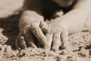 życie na plaży,