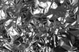 crinkled aluminium foil poster