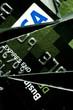 Destroyed credit card