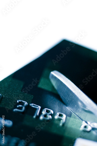 Destroy credit card