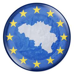 3D-Button - Eurozone - Belgien