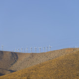 Ecology Friendly Renewable Wind Electricity poster