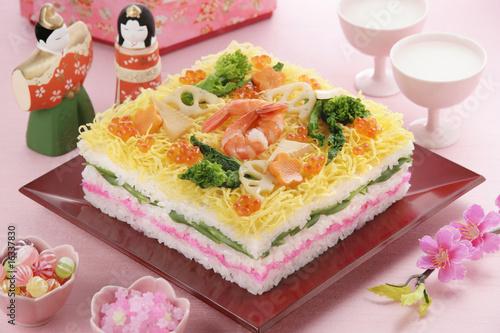 ひなちらし寿司