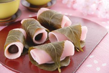 長命寺の桜餅