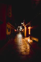 祇園の灯り