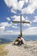 Paar am Stoderzinken-Gipfel
