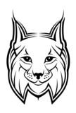 Lynx as a mascot poster