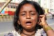 Crying Beggar Girl