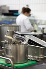 arbeiten in der Küche