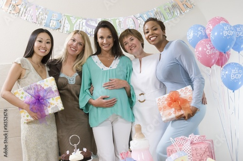 Women at a Baby Shower
