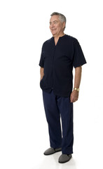 Mature Man Standing
