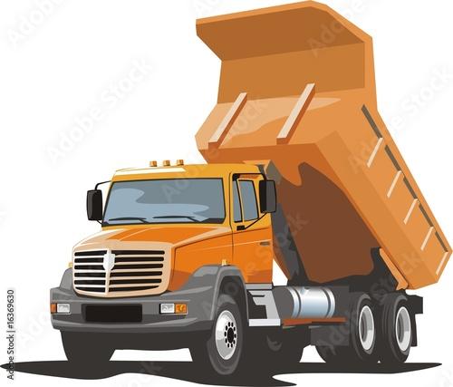 dump truck - 16369630