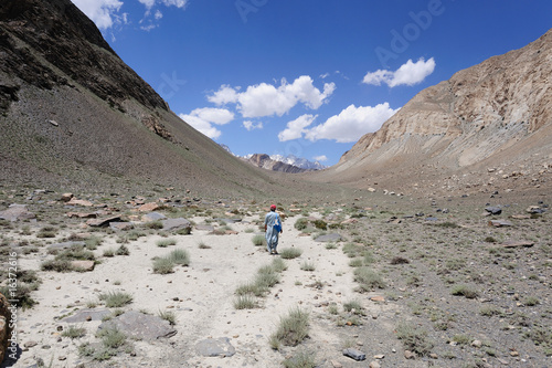 U-Shaped  Valley in Karakoram