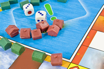 Monopoly Home Dice