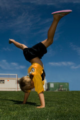 Cartwheel!