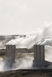 Geothermal Power Station in Iceland poster