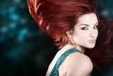 Beautiful fiery redhead